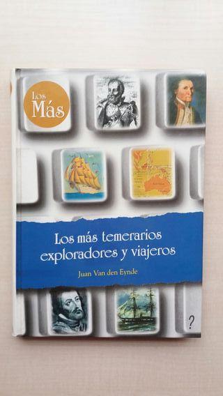 Libro Los más temerarios exploradores y viajeros.