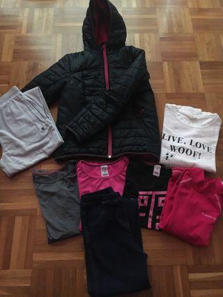 Lote ropa niña 9 años