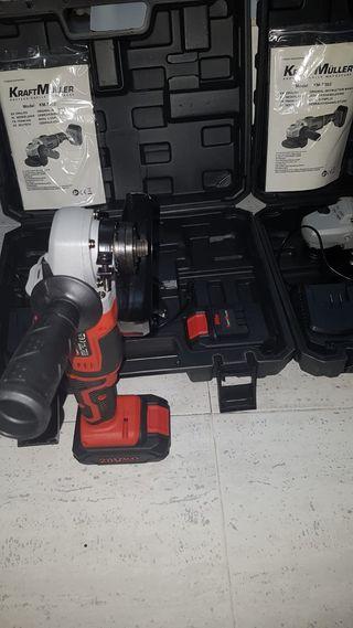 Nueva radial 20v 2 baterias