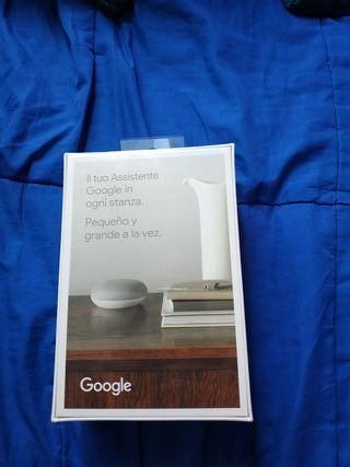 google nest mini altavoz inteligente nuevo