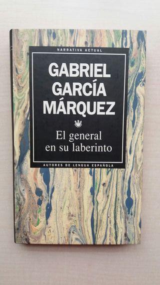 Libro El general en su laberinto. García Márquez.