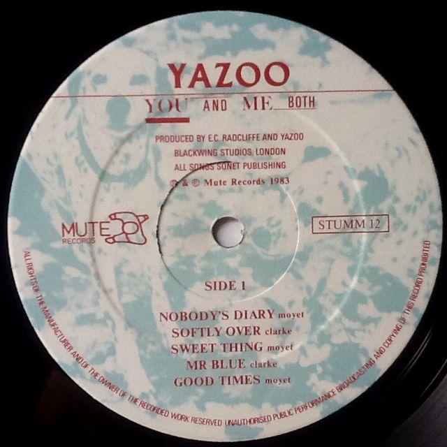 """YAZOO """"BOTH AND ME BOTH"""" LP"""