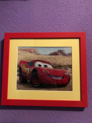 Cuadro Puzzle3D película Cars