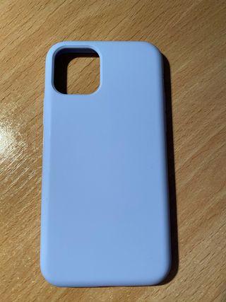 Funda iPhone 11 PRO Muvit Liquid Violeta