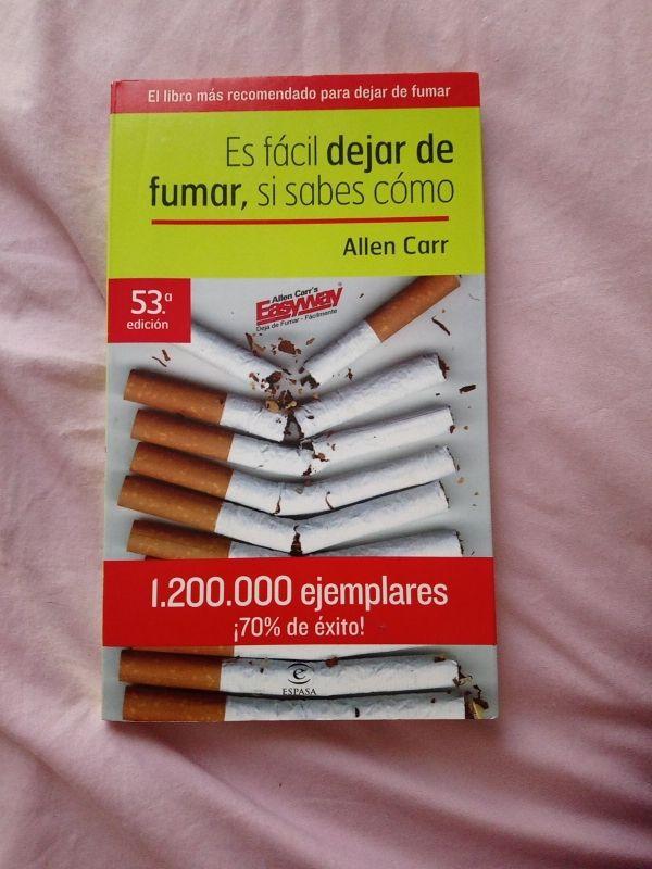 libro es fácil dejar de fumar, si sabes como