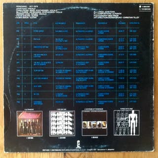 "ULTRAVOX ""THREE INTO ONE"" LP"