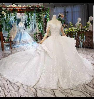 Robe de mariage très belle luxe vient de Dubai