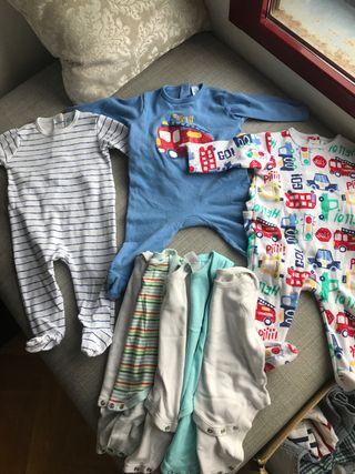 Lote Pijamas Peleles Bodys 6 meses