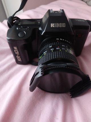 camara de fotos reflex analógica ricoh