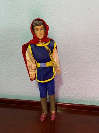 muñeco principe barbie + ropa y zapatos