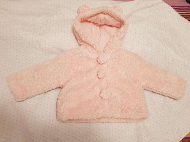 abrigo bebé 6-9meses