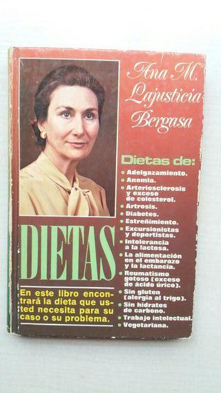 Libro Dietas. Ana María Lajusticia Bergasa.