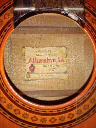 Guitarra Alhambra Original