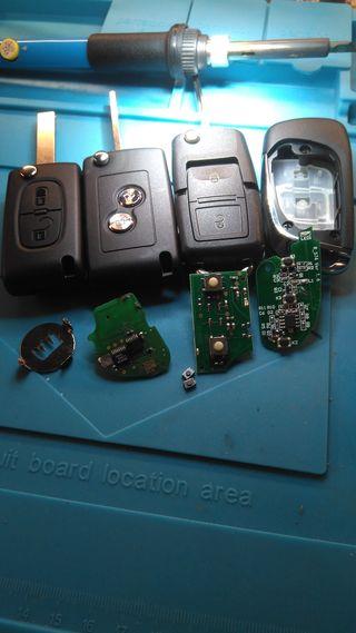Reparación de mandos