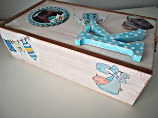 caja infantil recién nacido