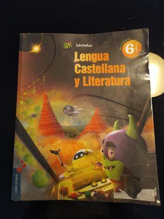 Libro lengua castellana y literatura 6o primaria