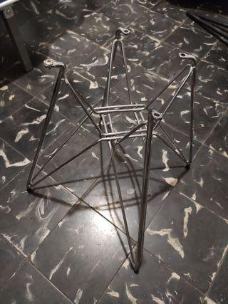 4 juegos de patas sillas Eiffel Eames diseño
