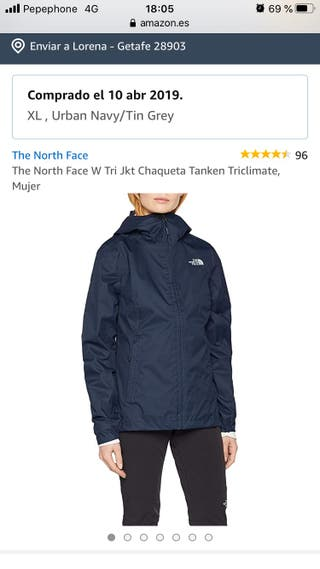 Impermeable y Forro polar THE NORTH FACE