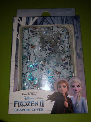 Funda para pasaporte Olaf Frozen 2 Disney