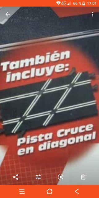 CAMBIO o COMPRO PISTA CRUCE DIAGONAL DE SCALEXTRIC