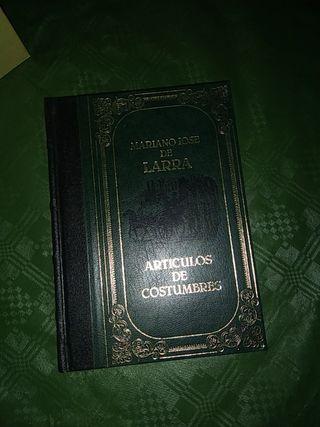 Artículos de costumbres Mariano José de Larra