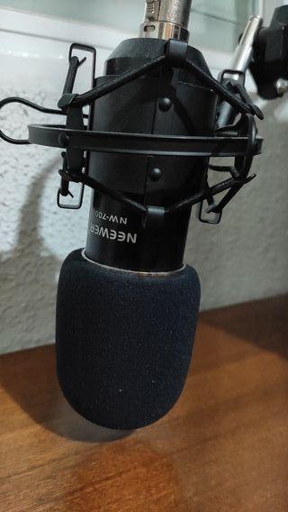 Micrófono condensador Neewer Nw- 700