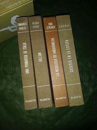 lote de libros de la Editorial Planeta