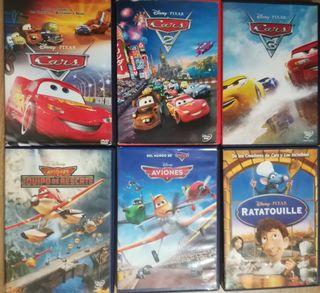 22 DVD con películas infantiles!!