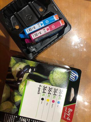 Cartuchos tinta HP 364xl