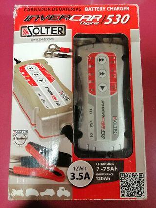 Cargador de baterías Solter 530 nuevo