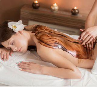 oferta masaje chocoterapia