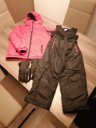ropa para la nieve