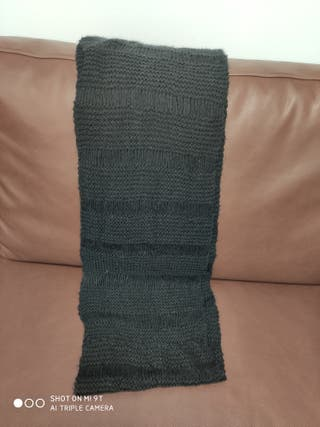 Bufanda braga negra