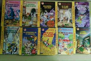 40 libros de geronimo stilton