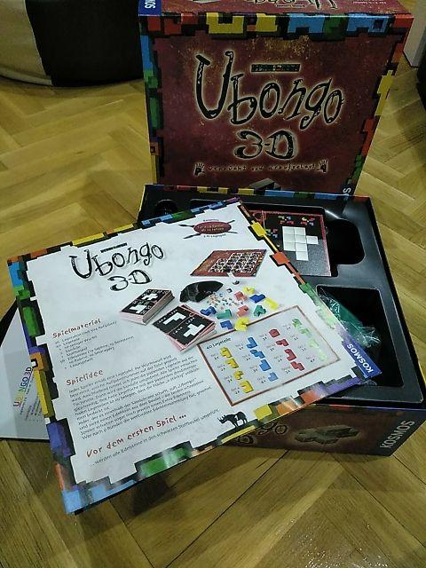 juego de mesa Ubongo 3D en alemán