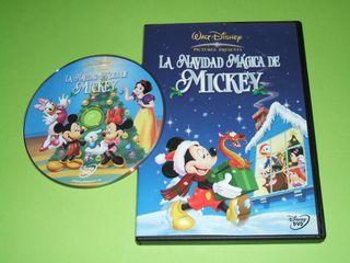 LA NAVIDAD MAGICA DE MICKEY -DVD DISNEY-