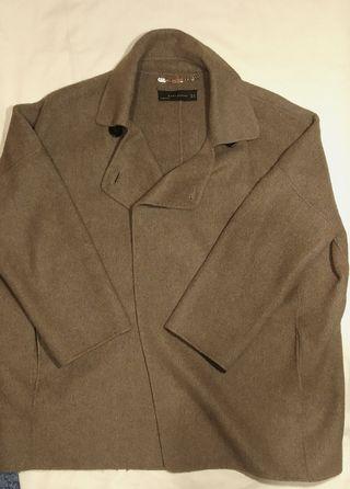 Abrigo marrón zara