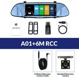 Video grabadora Nueva retrovisor Android GPS Dvr