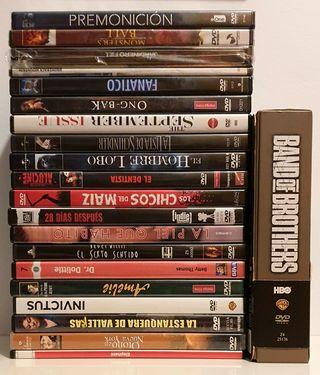 Pack 20 dvd y Serie Completa