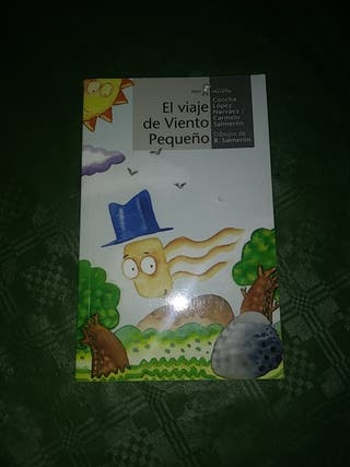 el viaje de viento pequeño Concha López Narváez Ca