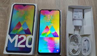 "Samsung Galaxy M20-6.3"" 4GB/64GB Libre"