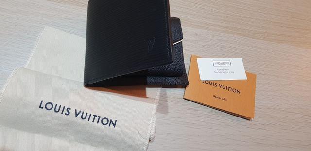 Cartera hombre Louis Vuitton 100% Piel 100% origin