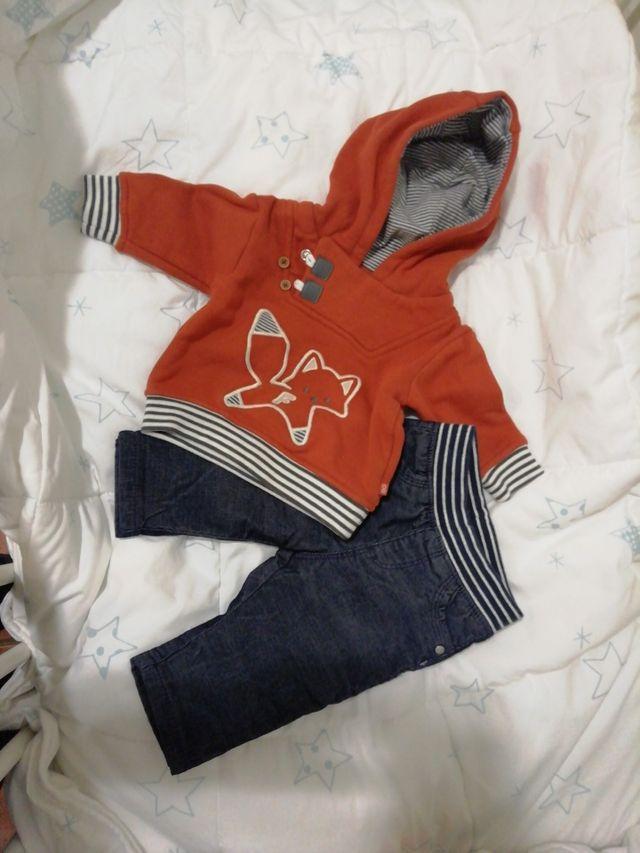 conjunto bebé 3 meses