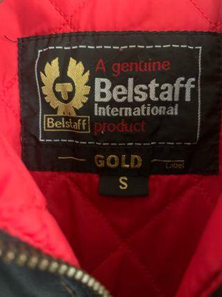 Cazadora Belstaff oscura