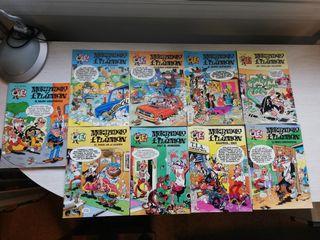 Lote 9 cómics Mortadelo y Filemón. Ibáñez