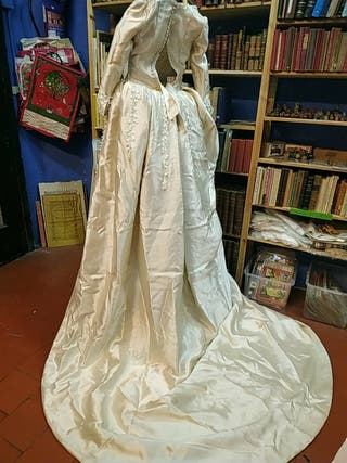 vestido novia alta costura rosario diaz