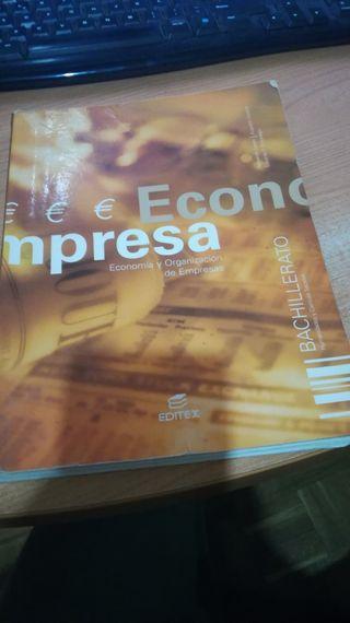 Economía de la empresa Bachillerato