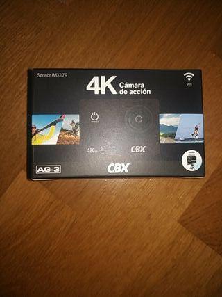 Cámara de acción CBX 4K