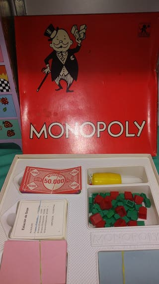 Monopoly Madrid antiguo