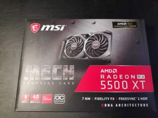 Tarjeta Gráfica MSI RX 5500 XT 8GB
